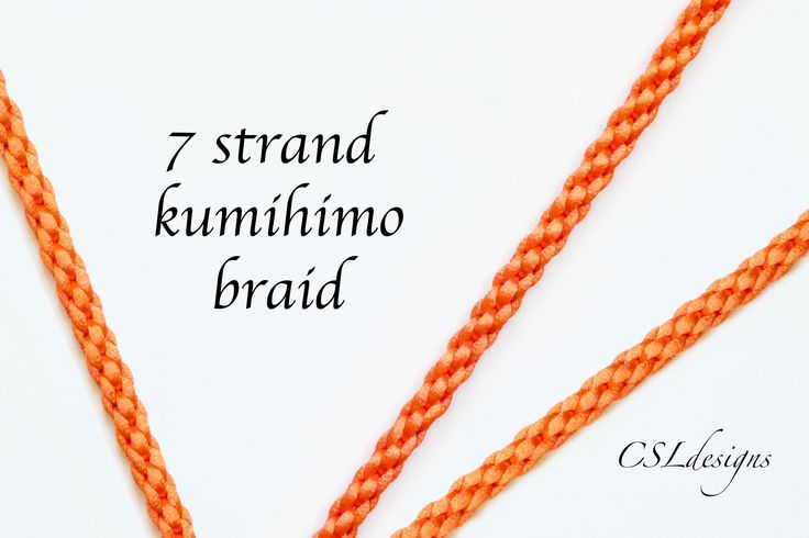 In this tutorial I show you how to make a 7 strand kumihimo braid. Please feel free to give it a go yourself and I hope you enjoy. Round kumihimo disk on Ama...