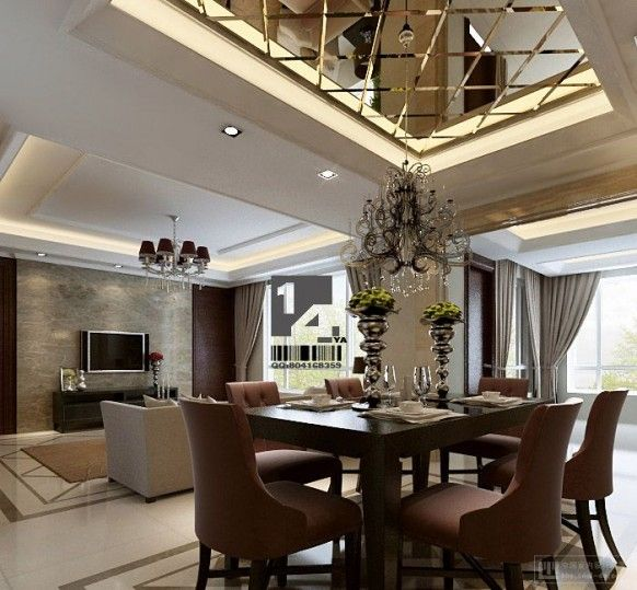 Luxury House Interior Design from Chinese