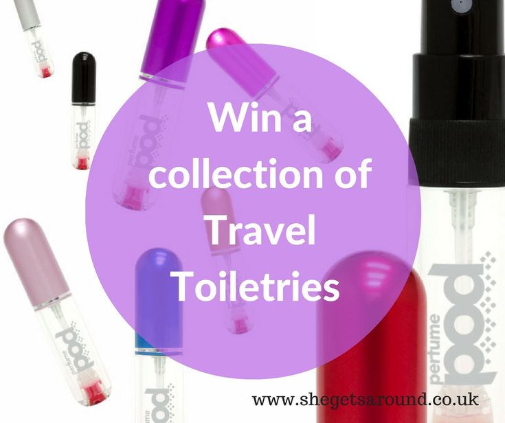 Need help packing everything into your hand luggage toiletries allowance? We have the answer and a giveaway with lots of travel toiletries to be won, including a perfume atomiser, a dove gift set and some face masks for a relaxed holiday abroad.