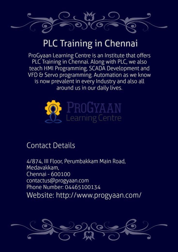 plc training in chennai