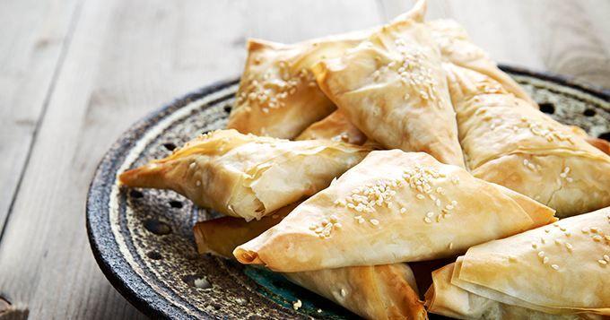 Samoussas au poulet et au curry | Cuisine AZ