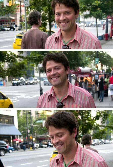 Misha Collins ~ the most adorable man alive