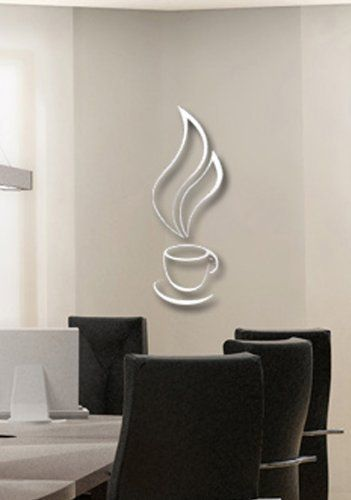 1000 images about coffee kitchen decor on pinterest for Dining room 3d wall art