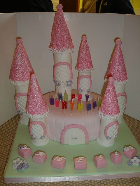 #Princesscastlecake. My first ever cake made back in 2011, which started this cake-home-baker-business.