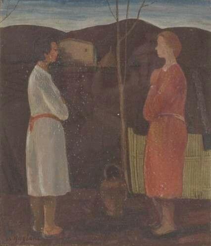 Le due donne 1962 fondazione caript