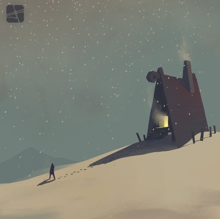 winter, Alexandr Pushai on ArtStation at https://www.artstation.com/artwork/winter-4a2b4ff7-4457-4172-b129-e9b5644f3472
