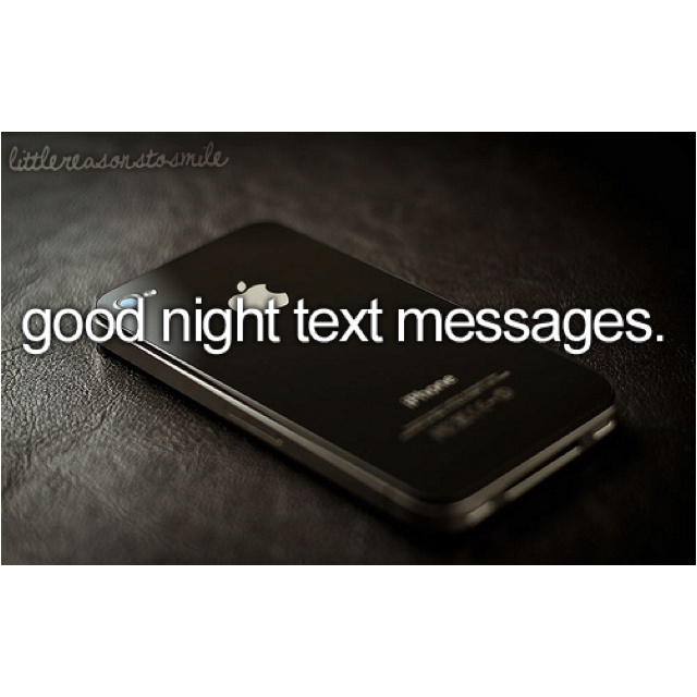 od texting a Sms Good Night Messages.