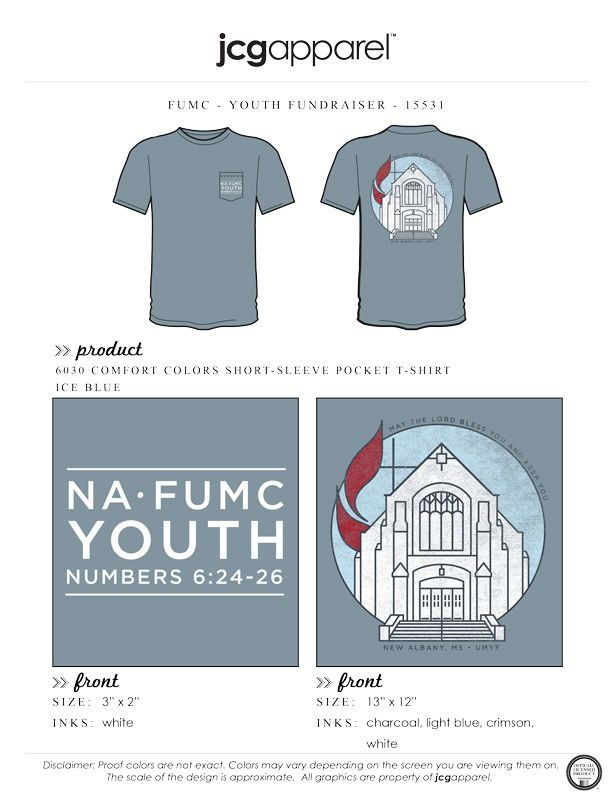 First United Methodist Church Youth Event Shirt Fumc Youth