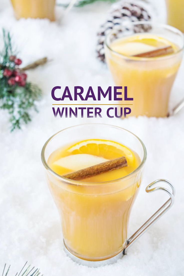 •2 cups of apple juice •6 caramel candies •4 slices of orange • 1 cinnamon stick, plus 1 more for garnish • 4 ounces of gin • Apple slices for garnish • A big splash of Vainilla Molina  1. Add the apple juice, caramels, orange slices and cinnamon sticks to a saucepan over medium heat. 2. Warm the apple juice until the caramels melt. 3. Turn off the heat and stir in the gin. 4. Strain into cups, add a big splash of Vainilla Molina, garnish with apple slices, orange slices and cinnamon…
