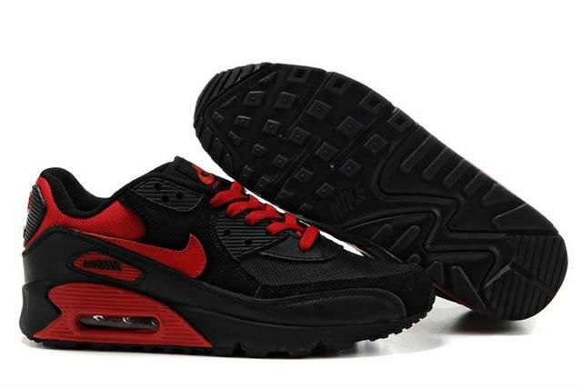 http://www.airgriffeymax.com/nike-air-max-90-black-dark-red-p-316.html Only$72.85 #NIKE AIR MAX 90 BLACK DARK RED #Free #Shipping!