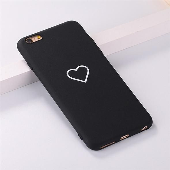 """""""Heart"""" Phone Case for iPhone 7 (Black)"""
