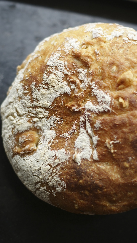 Wspaniały chleb bez zagniatania/ Great bread without kneading