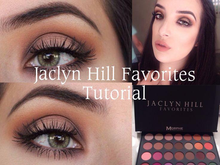 Jaclyn Hill Favorites Palette Tutorial - Morphe Brushes