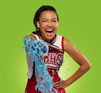 Love Glee, and Santana is probably my favorite character right now.