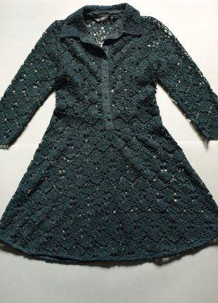 Want it ?  Taki it ! :D http://www.vinted.pl/damska-odziez/letnie-sukienki/19066930-zielona-azurowa-sukienka-zara