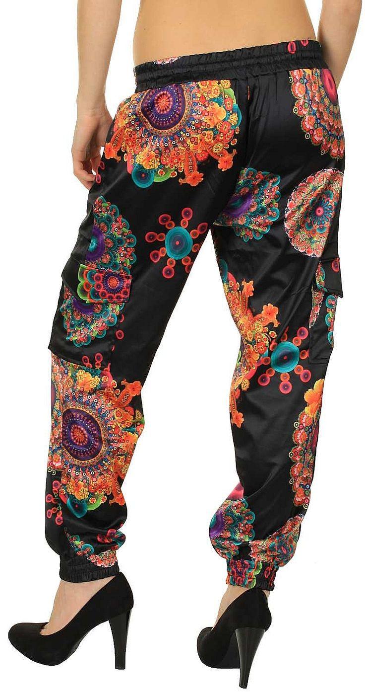 kalhoty Desigual 41P2609/Ruth - 2000/Negro 24