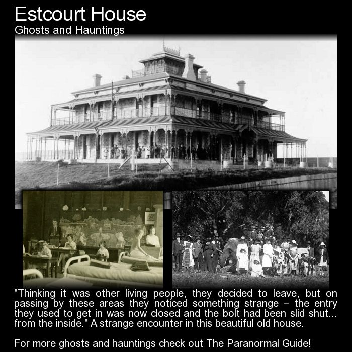 Estcourt House. A historic and beautiful home with a few strange stories. Read more here: http://www.theparanormalguide.com/blog/estcourt-house