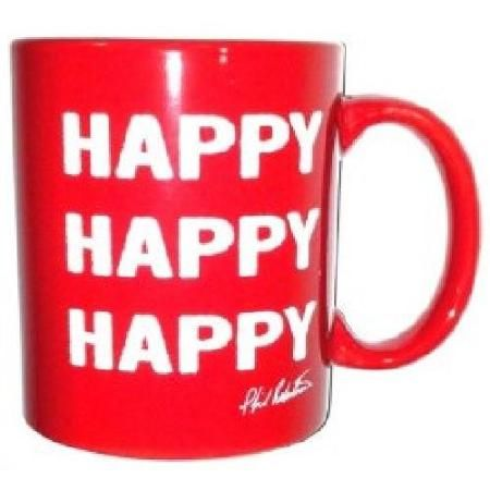 Duck Commander Coffee Mug Red Happy Happy Happy DC-NOV-CMSI