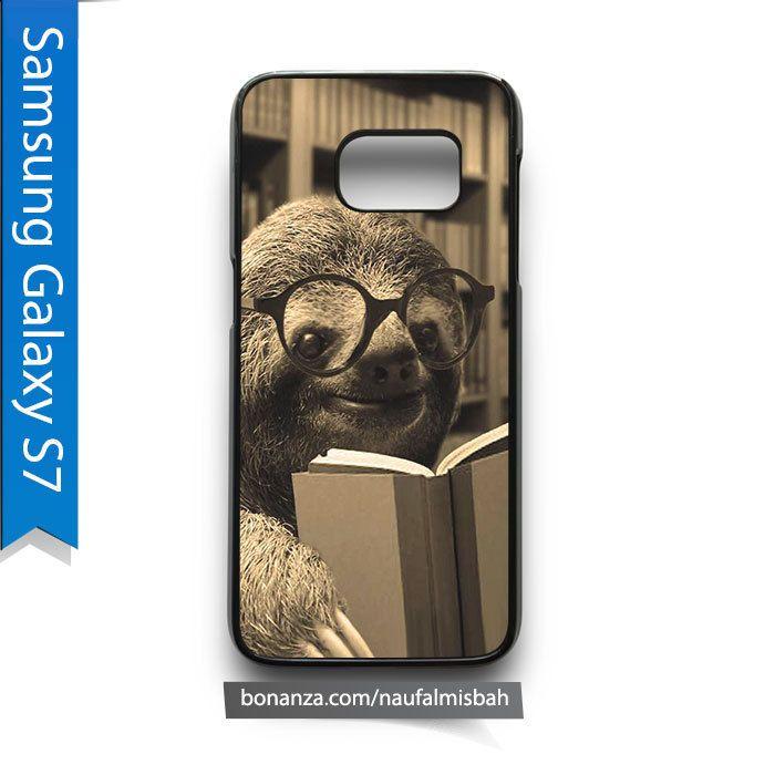 Sloth Reading Book Samsung Galaxy S7 Case Cover
