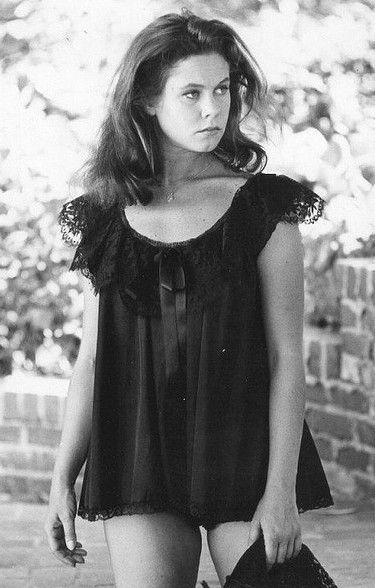 Elizabeth Montgomery In A Black Babydoll Elizabeth