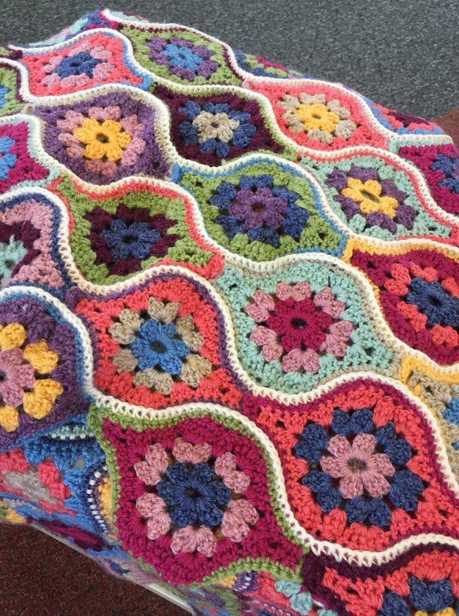 Mystical Lanterns Crochet Blanket in Stylecraft Life DK | Deramores