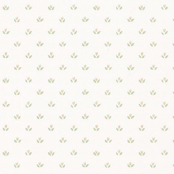 """Fresh Kitchens V 32.7' x 20.5"""" Mini Tulip Wallpaper"""