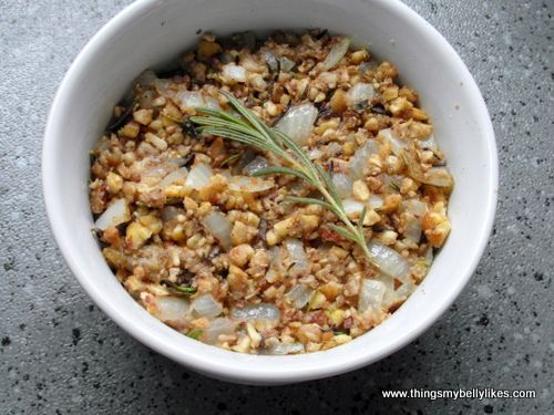 Chestnut and Rosemary Stuffing Recipe