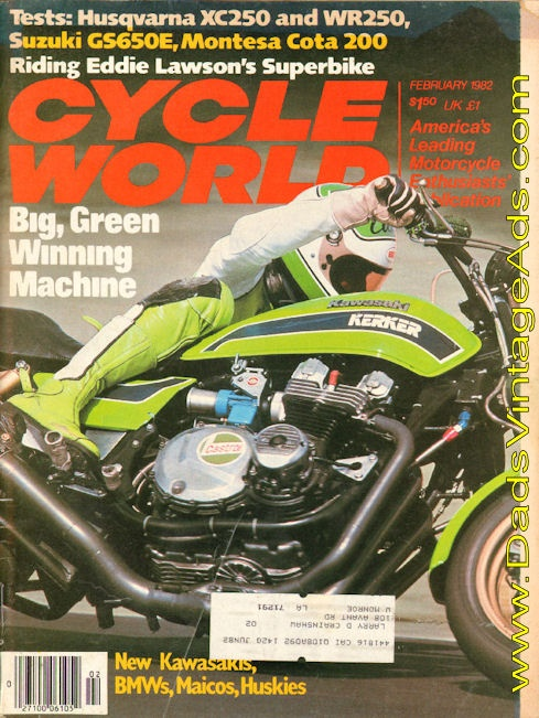 1982 Eddie Lawson's Mean, Green Machine – why he won the Superbike Championship on this motorcycle