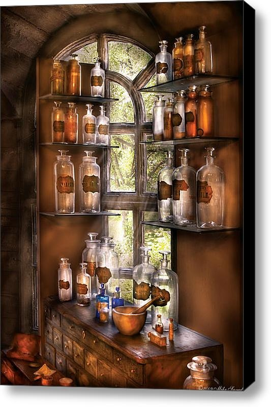 Various Potions, by Mike Savad