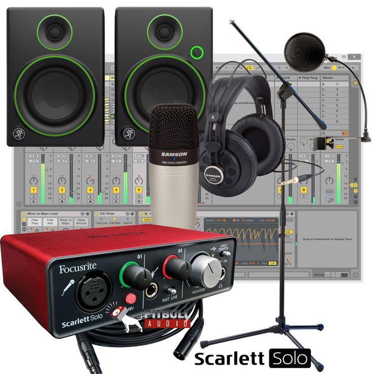 home recording studio bundle
