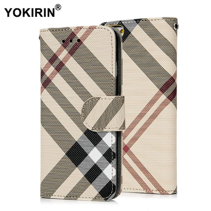 3.11$  Know more - Luxury Plaid Pattern PU Leather Wallet Case Cover for iphone 6 6S Plus Protective Phone Pouch Bag With ID Card Stand Holder   #magazineonlinewebsite