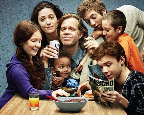 Shameless... on Showtime. love this show!!