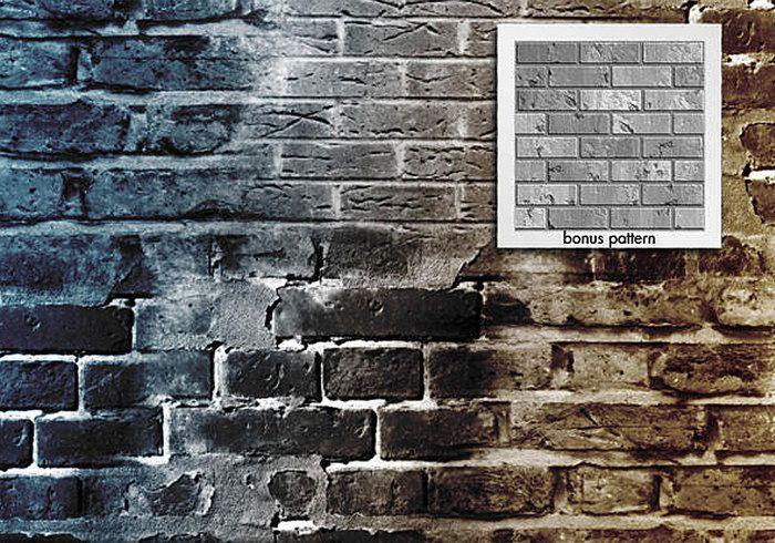 Brick in the Wall brushes and pattern