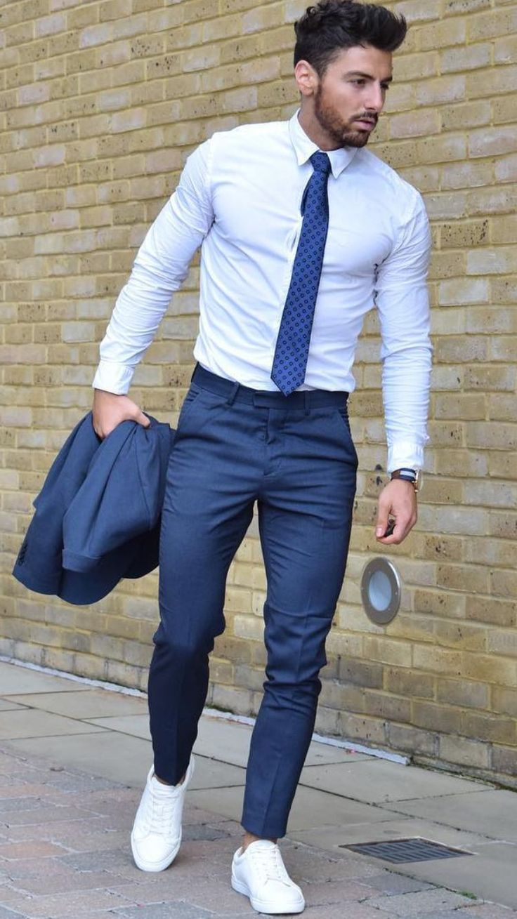 25 best ideas about blue suit men on pinterest mens for White shirt outfit mens