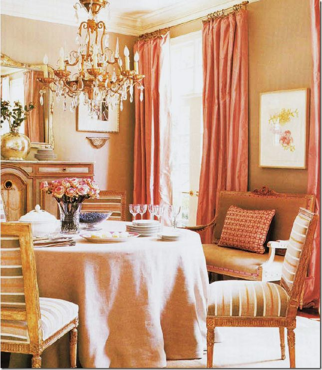 10 Best Coral Dining Room Images On Pinterest