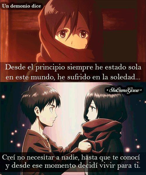 Desde el principio. #ShuOumaGcrow #Anime #Frases_anime #frases
