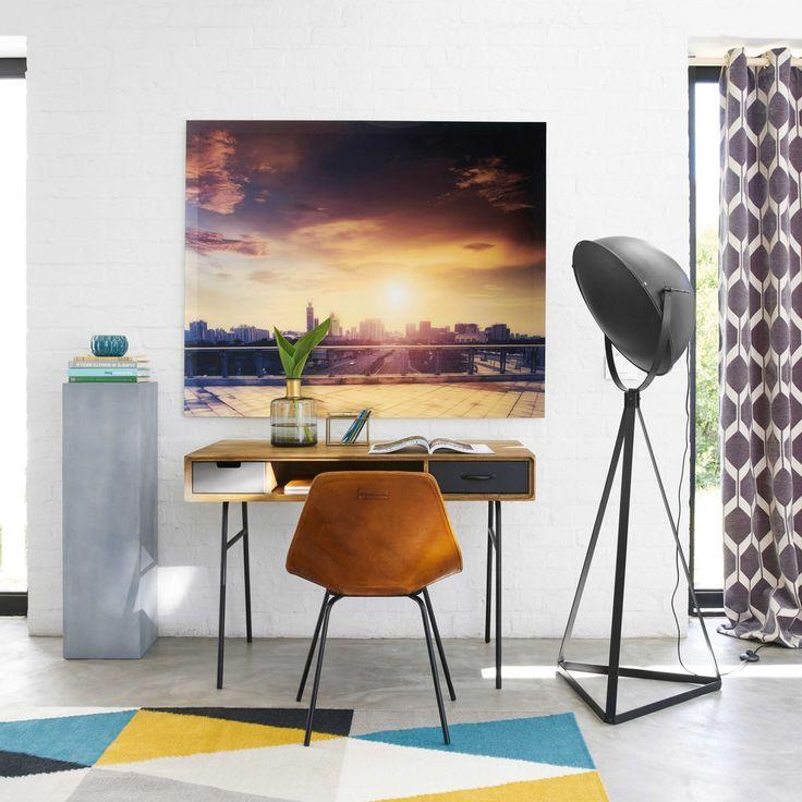 25 beste idee n over metalen bureaus op pinterest beschilderde metalen bureaus metaal en klokken - Kantoor guariche ...