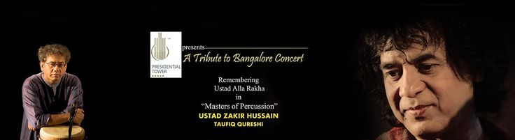 Masters of Percussion- Concert by Ustad Zakir Hussain and Taufiq Qureshi @ Chowdiah Memorial Hall - http://explo.in/1NSIt6T #Bangalore #Music