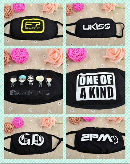 K POP BIGBANG G Dragon GD YG Fan Eshop FT 2PM KPOP Face Mouth Mask Muffle GIFT