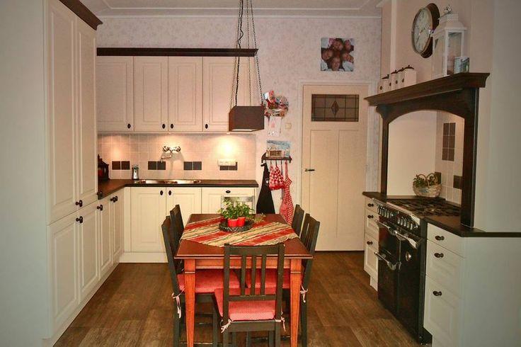 Een keuken in prachtige landelijke stijl.