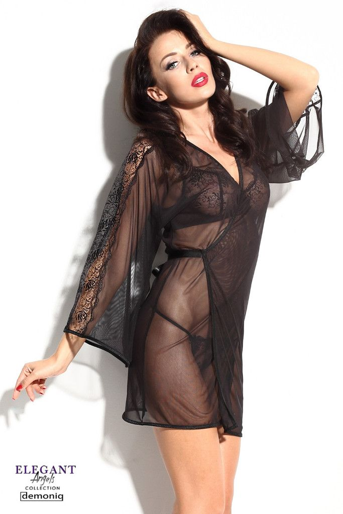The Calixte kimono - fascinates, warms your senses, amazes...For sure you already have sexy tops but... None of them will bring you this much emotions and make