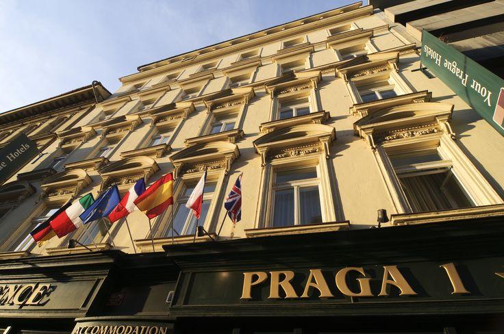 Exterior Hotel Praga 1 www.hotelpraga1prague.com