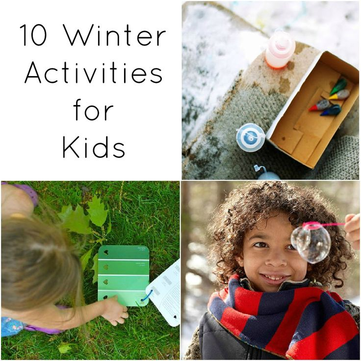 Love these 10 fun winter activities for kids