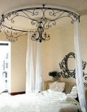 $37 Wrought iron beds the mantle shelf wrought iron bed