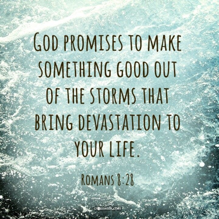 GOD CAN TURN A MESS INTO SOMETHING GOOD!