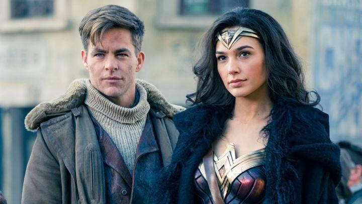 Chris Pine and Gal Gadot - Wonder Woman   Princess