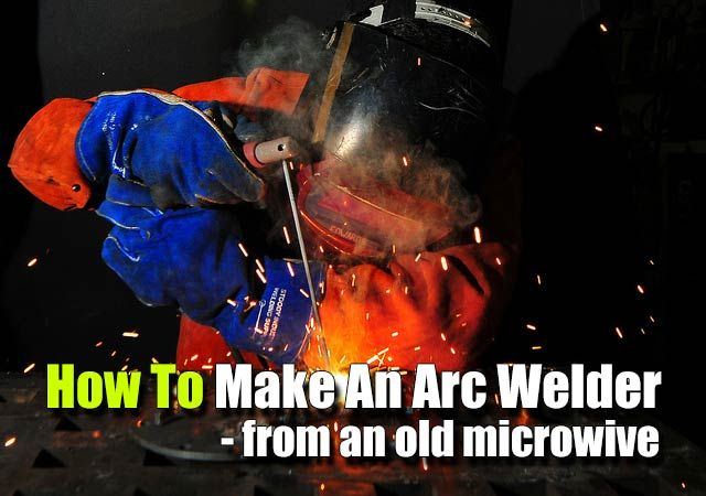 How To Make An Arc Welder - SHTF, Emergency Preparedness, Survival Prepping, Homesteading