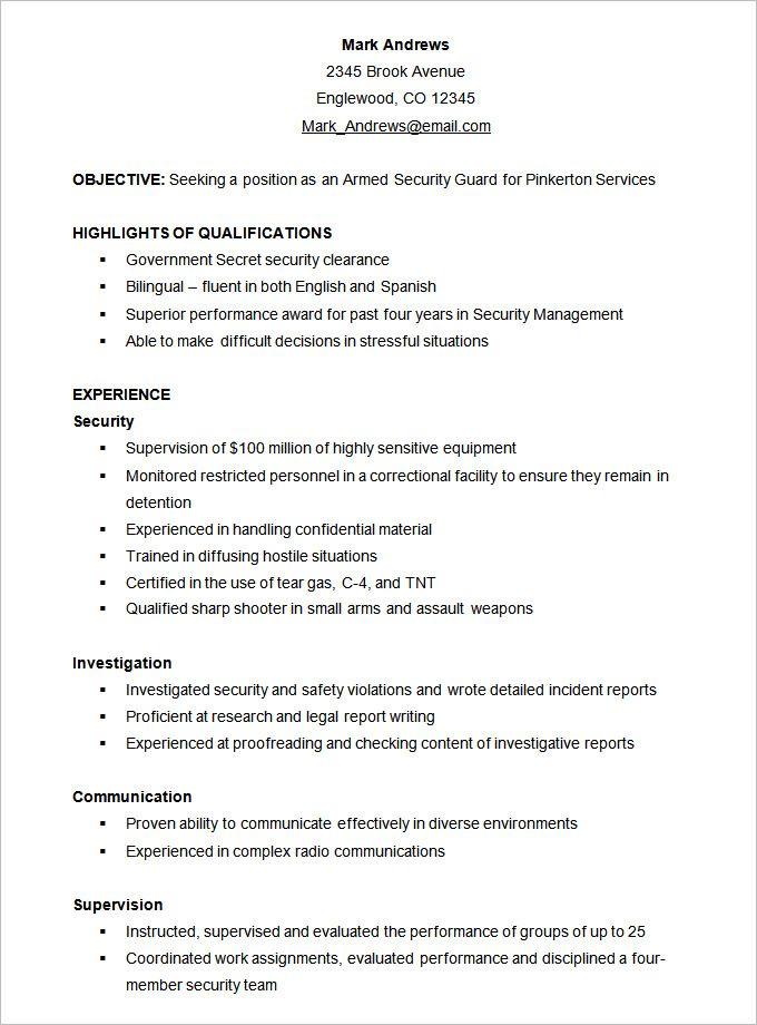 25+ ide terbaik Functional resume template di Pinterest Desain - example of skills based resume