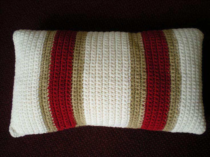 Laine Nature (pure laine vierge) des Bergers Cathares, France,  pour cette housse de coussin au crochet no 7