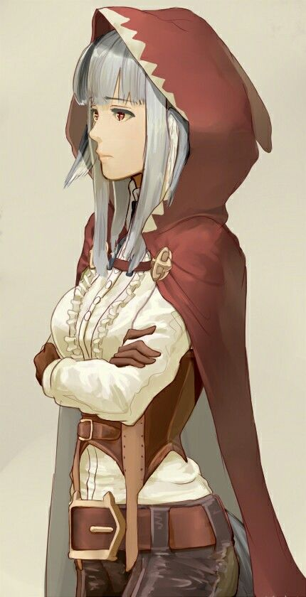 """Fire Emblem: Fates- """"Lone Wolf"""" << When you've never even played the game but you can tell she's a Red Mage. xP"""